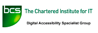 BCS Digital Accessibility Specialist Group